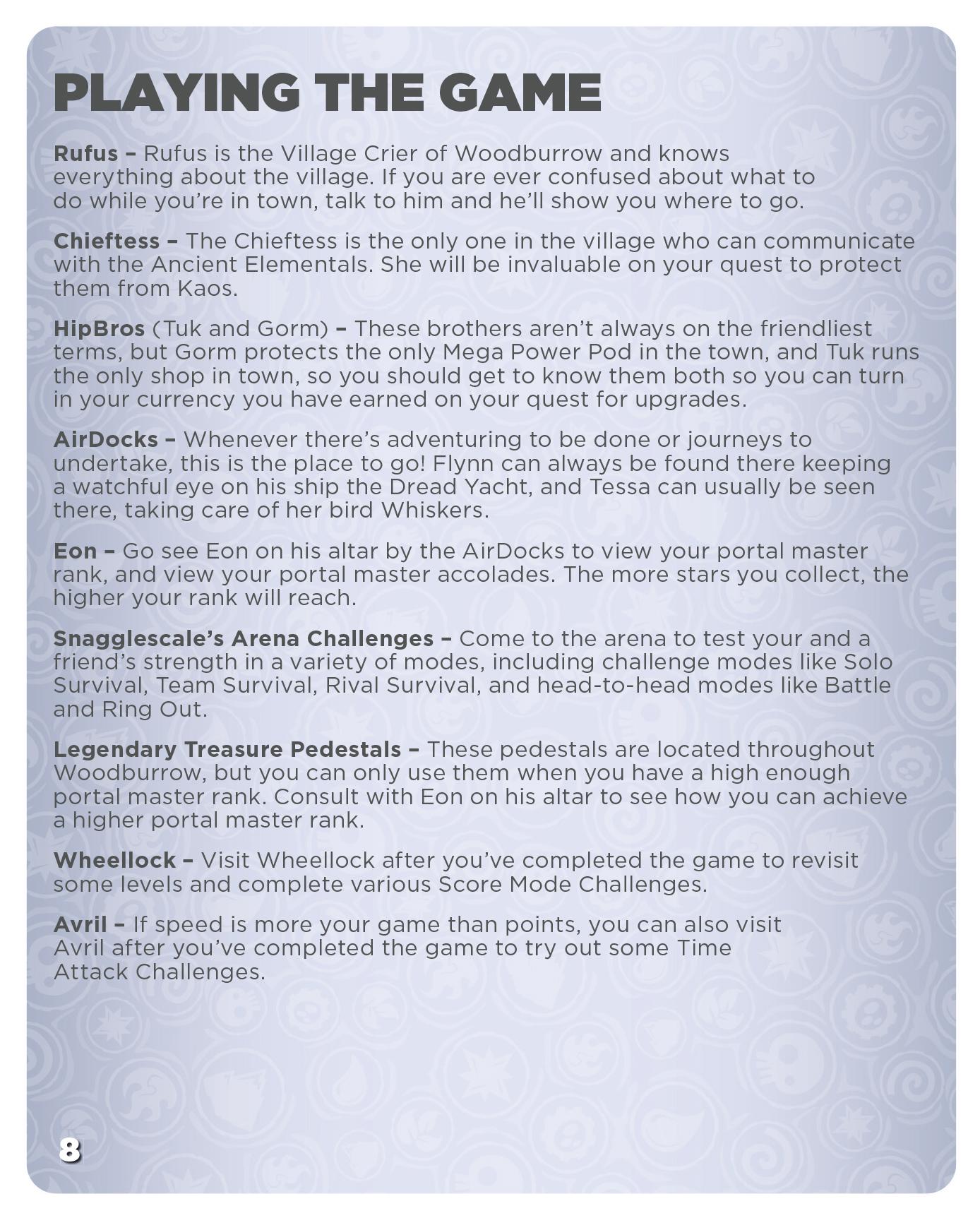 Skylanders SWAP Force PS4 Instruction Manual